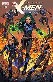X-Men Blue (2017-2018) #25
