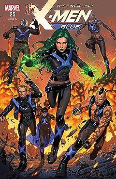 X-Men Blue (2017-) #25