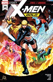 X-Men Gold (2017-) #25