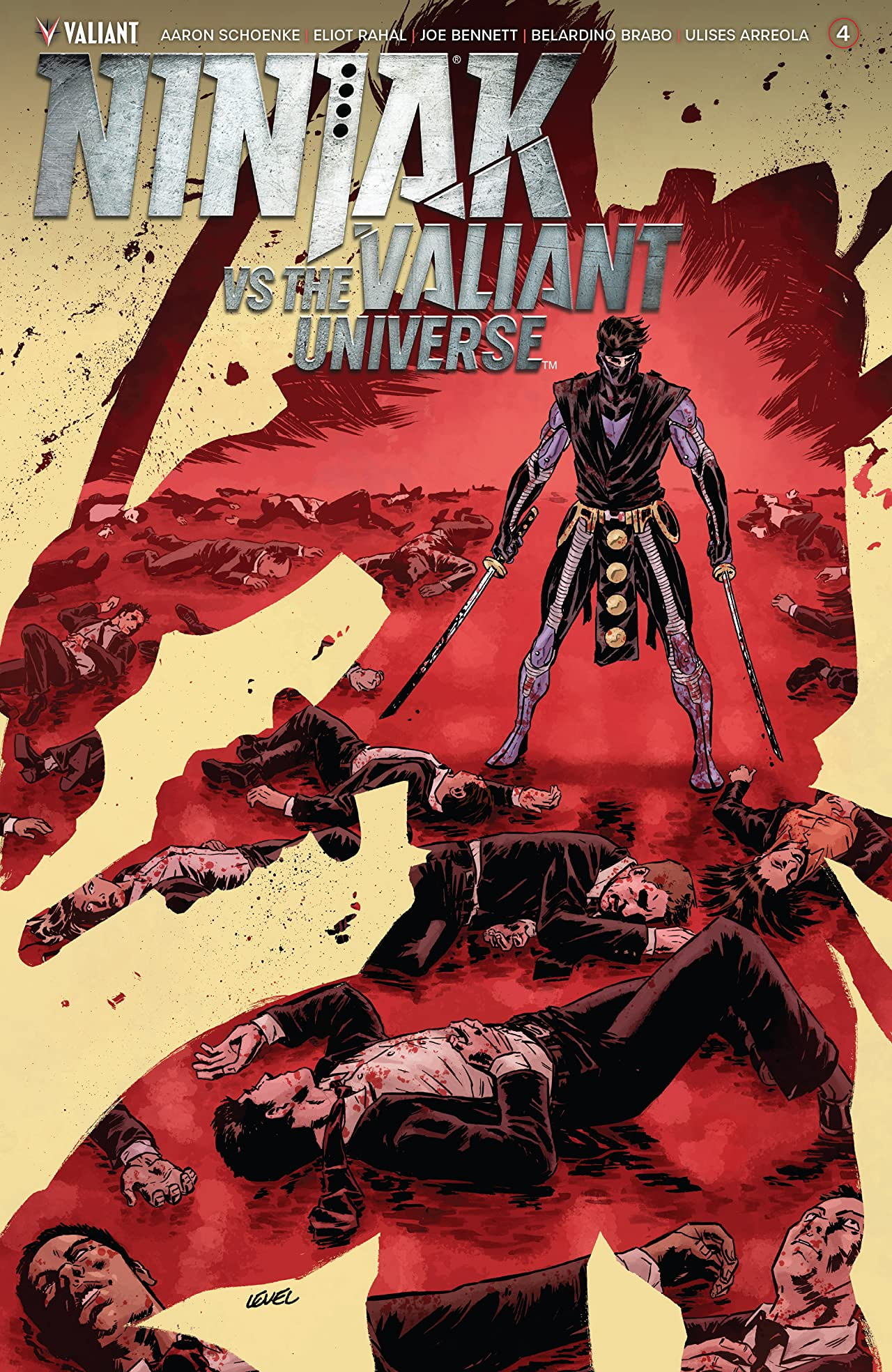 Ninjak Vs. The Valiant Universe #4