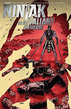 Ninjak Vs. The Valiant Universe #4