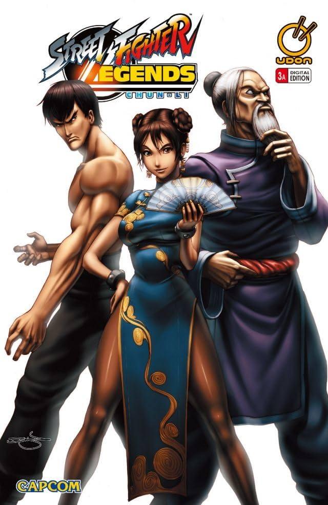 Street Fighter Legends Chun Li 3 Of 4 Eu Comics By Comixology