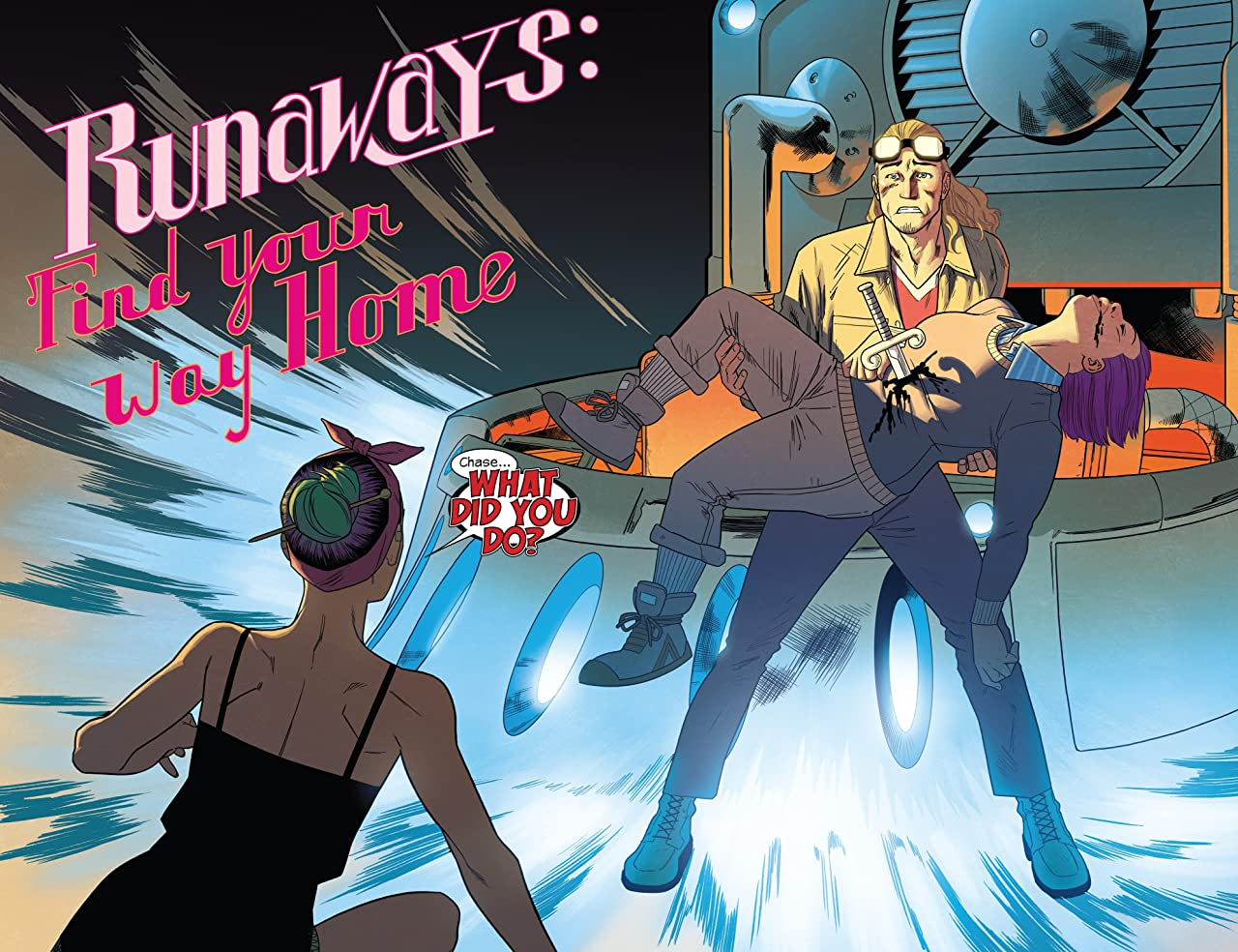 Runaways by Rainbow Rowell Tome 1: Find Your Way Home