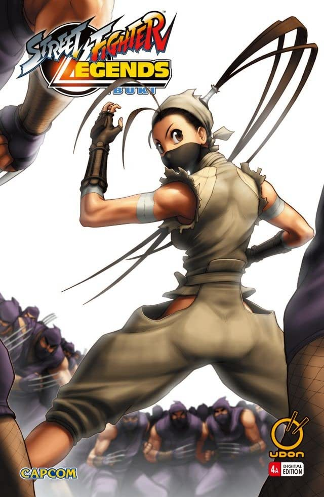 Street Fighter Legends: Ibuki #4 (of 4)