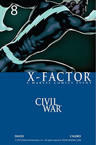 X-Factor (2005-2013) No.8