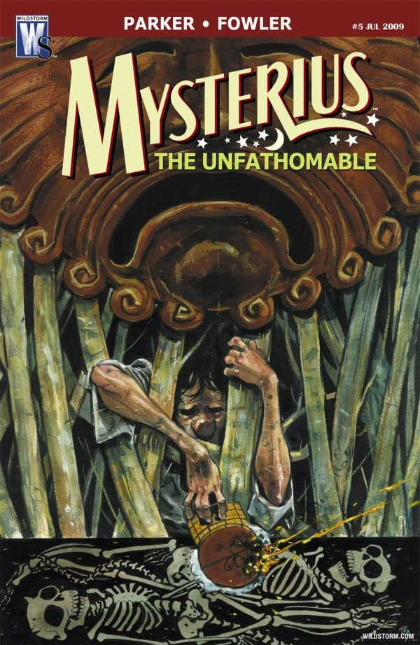 Mysterius: The Unfathomable #5 (of 6)