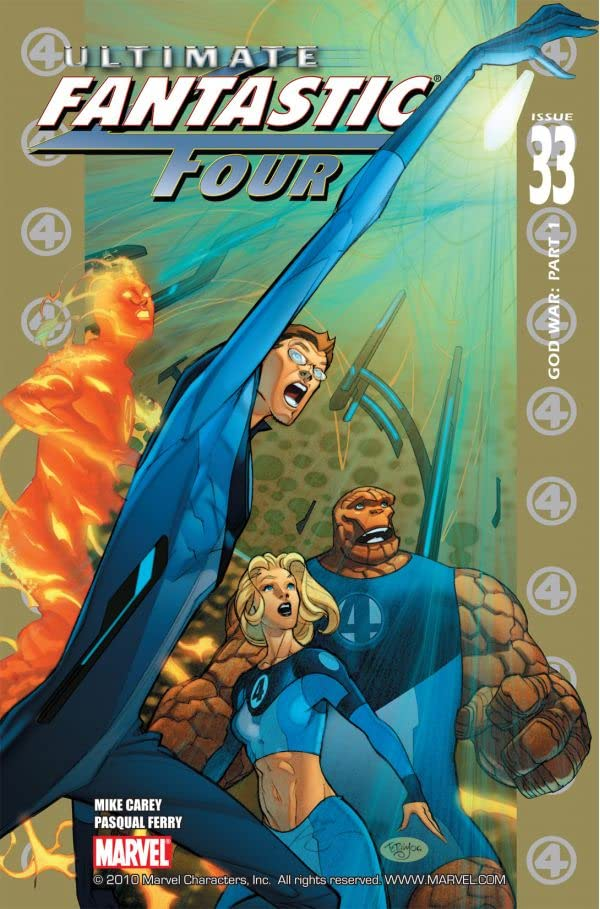 Ultimate Fantastic Four #33