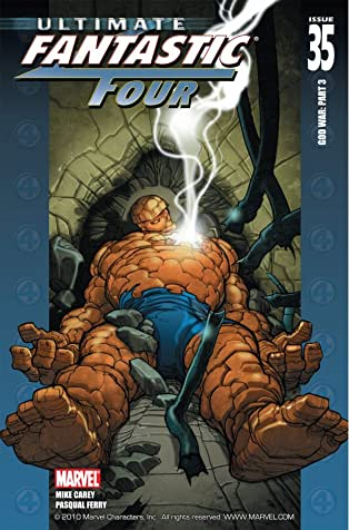 Ultimate Fantastic Four #35