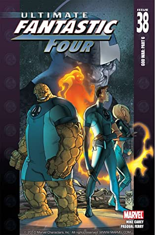 Ultimate Fantastic Four #38