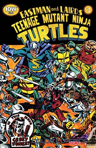 Teenage Mutant Ninja Turtles: Color Classics Tome 2 No.3