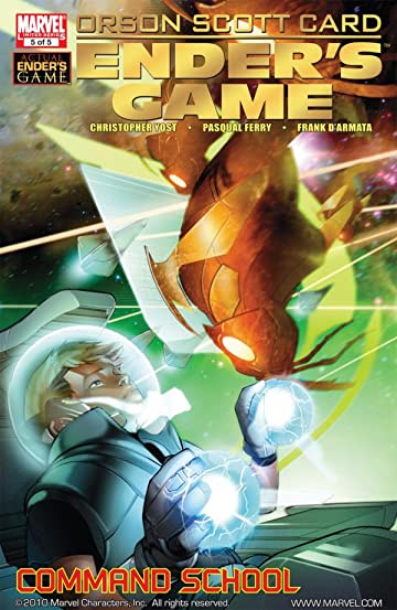 Ender's Game Book Two: Command School #5 (of 5)