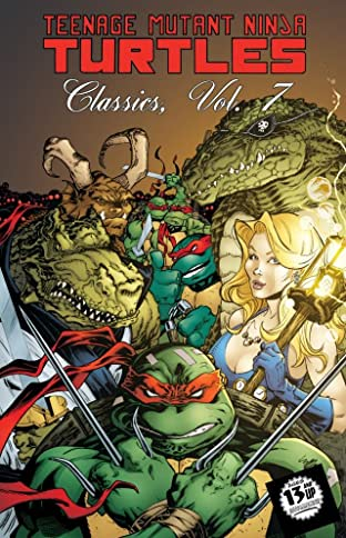 Teenage Mutant Ninja Turtles: Classics Tome 7