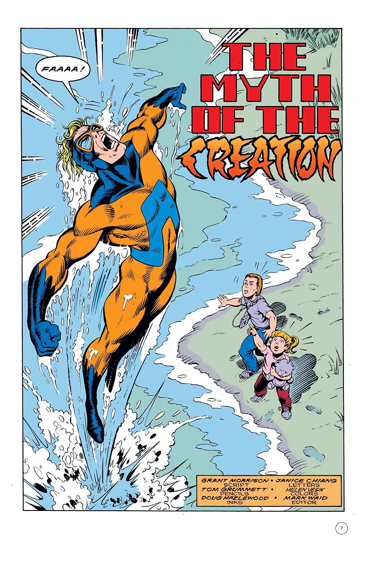 Animal Man (1988-1995) Vol. 2: Origin of the Species