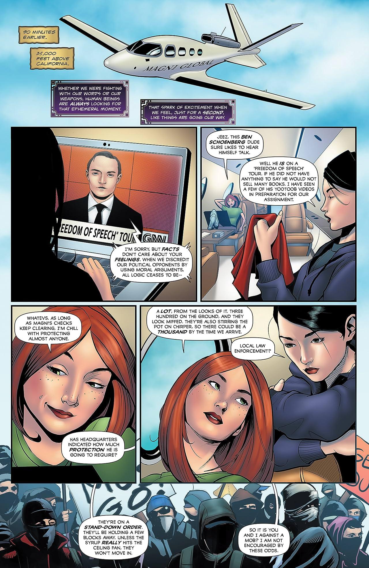 Executive Assistant: Iris Vol. 5 #2