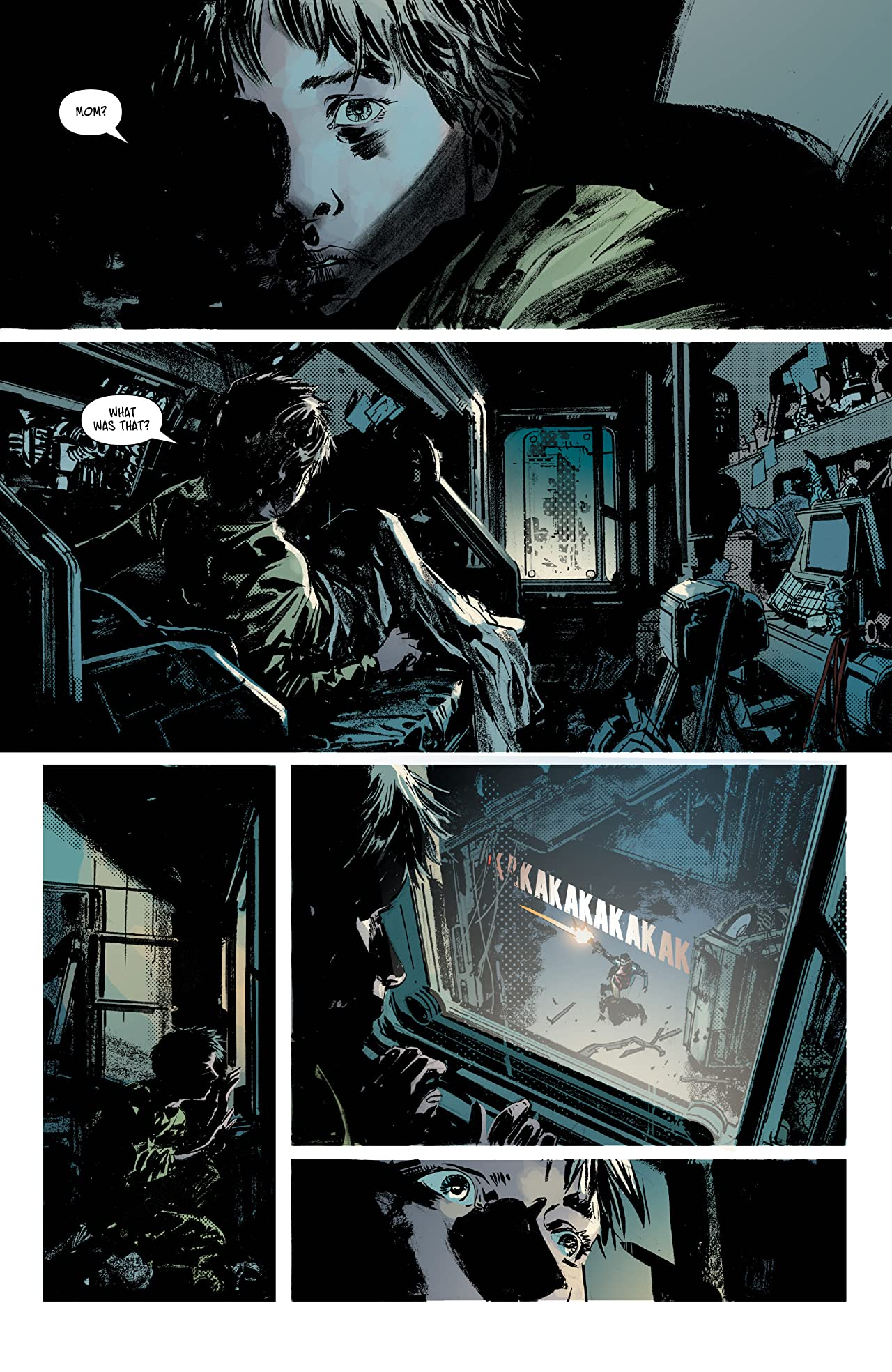Aliens: Dust to Dust #1