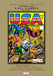 Golden Age U.S.A. Comics Masterworks Vol. 1