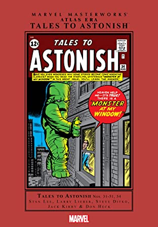 Atlas Era Tales To Astonish Masterworks Vol. 4