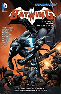 Batwing (2011-2014) COMIC_VOLUME_ABBREVIATION 3: Enemy of the State