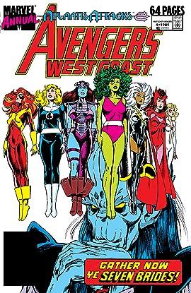 Avengers West Coast (1985-1994) Annual #4