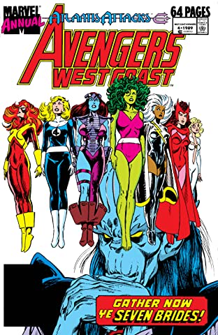 Avengers West Coast (1985-1994) Annual #4