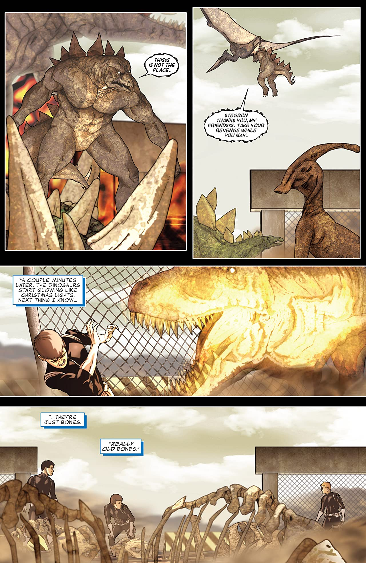 Avengers: The Initiative Featuring Reptil #1