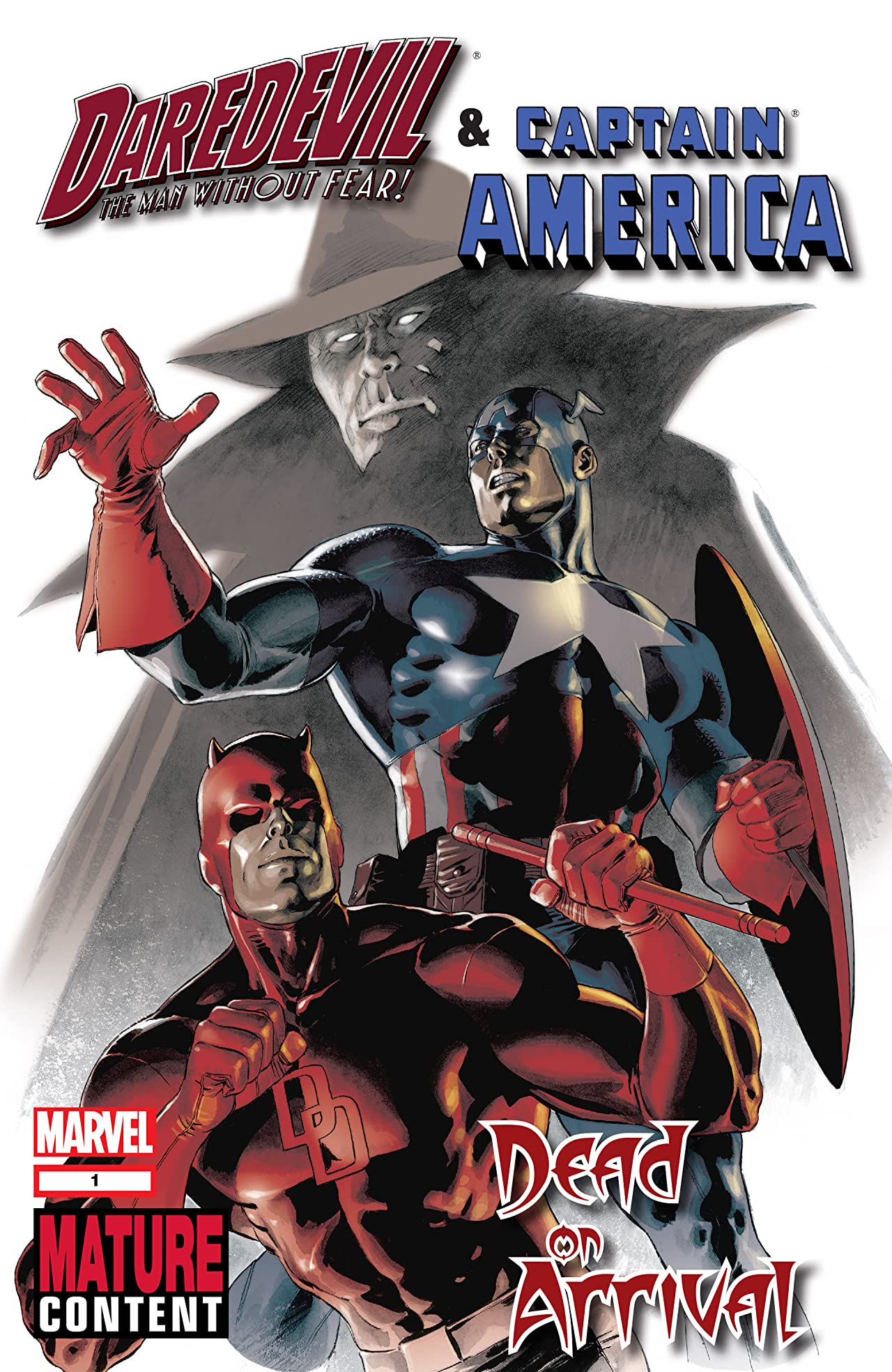 Daredevil & Captain America: Dead On Arrival (2009) #1