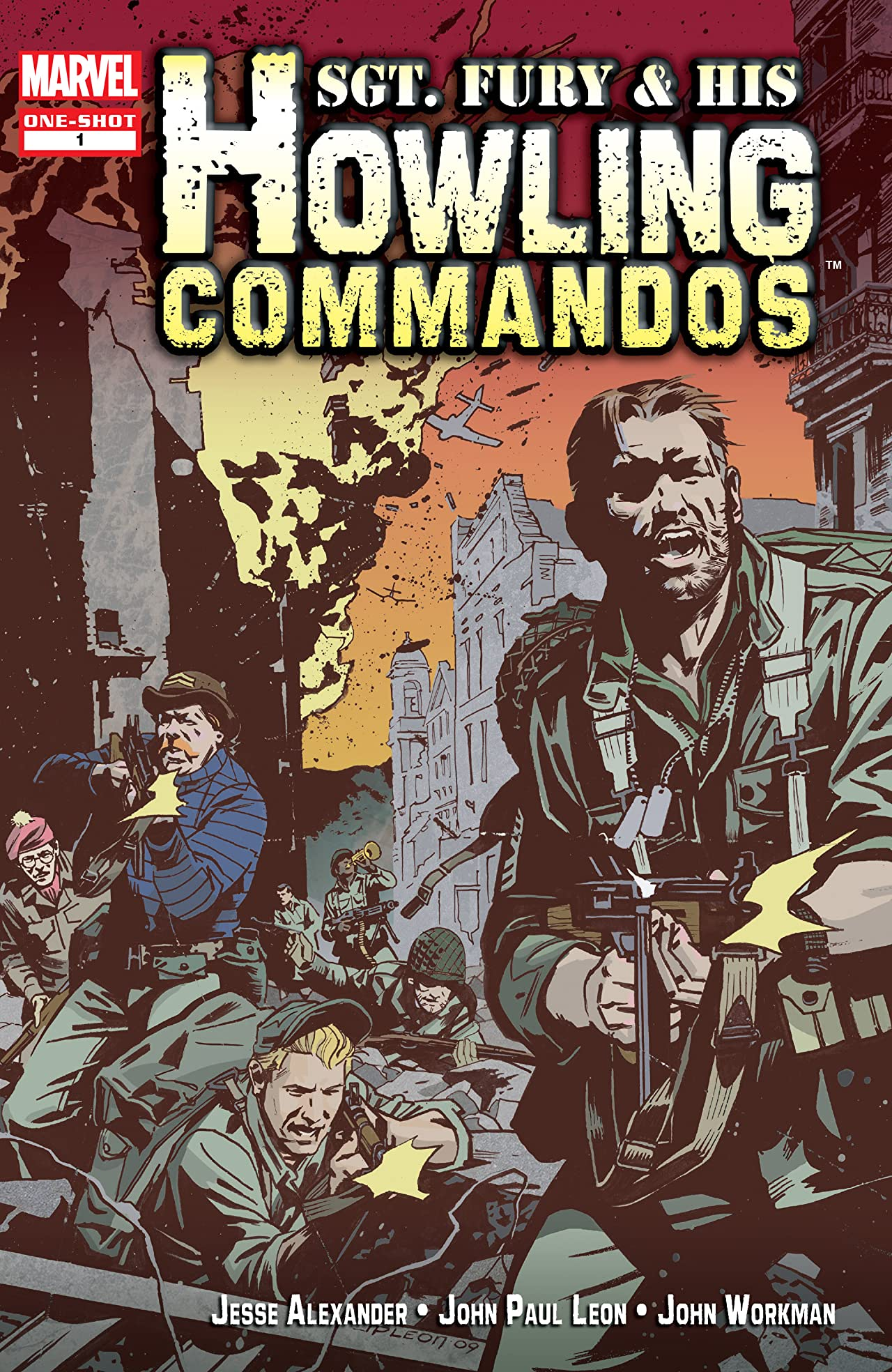Sgt. Fury & His Howling Commandos (2009) #1