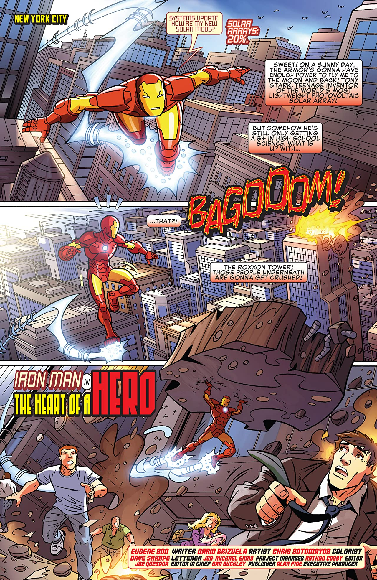 Iron Man: Armored Adventures (2009) #1