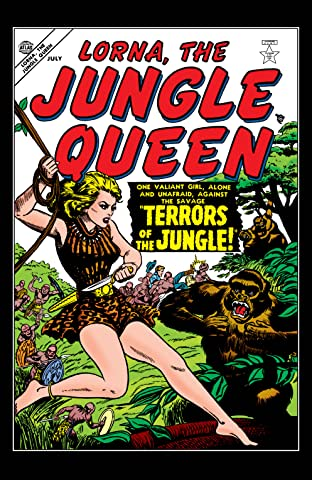Lorna, The Jungle Queen (1953-1954) #1