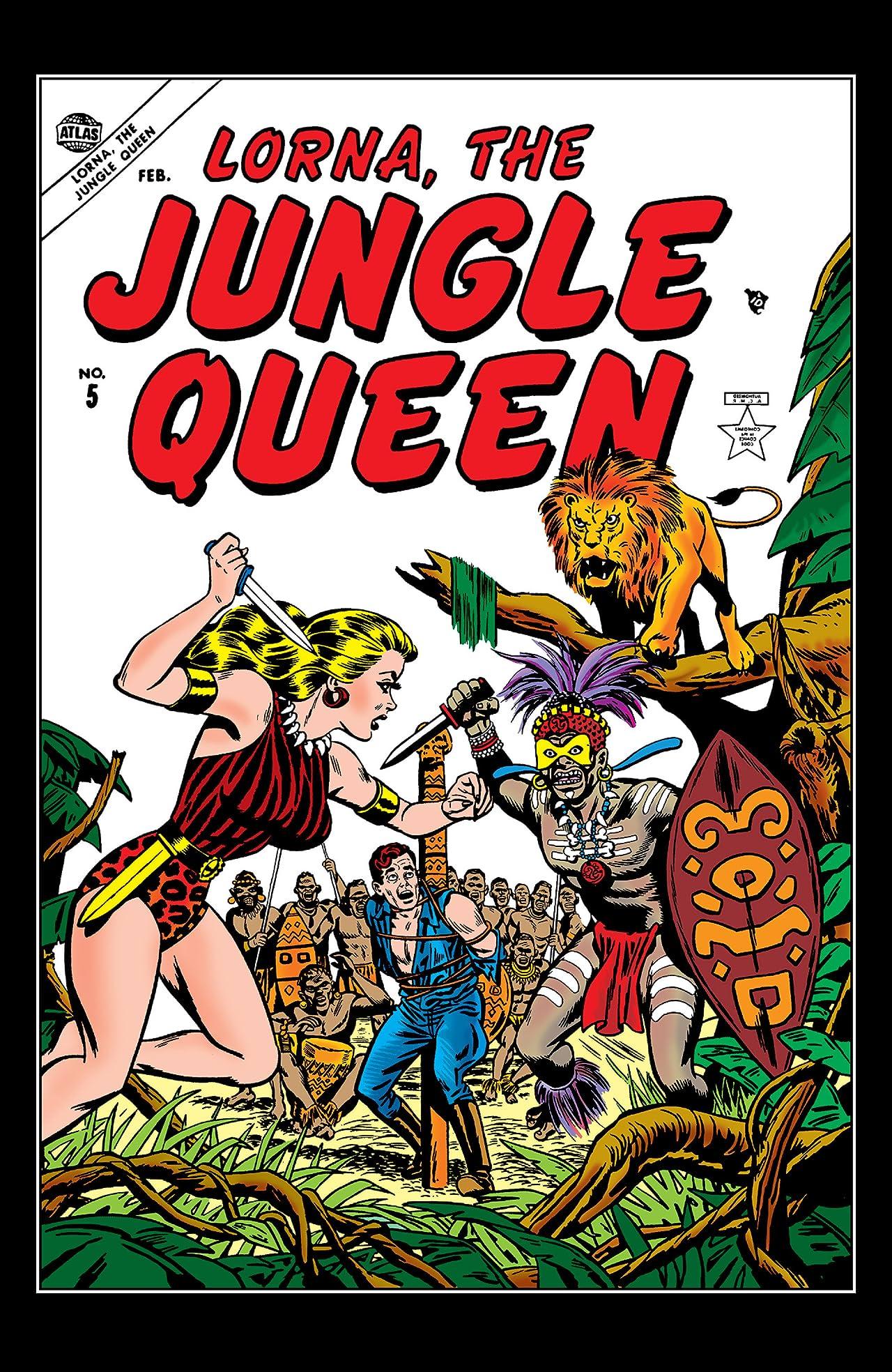 Lorna, The Jungle Queen (1953-1954) #5