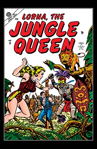 Lorna, The Jungle Queen (1953-1954) #5
