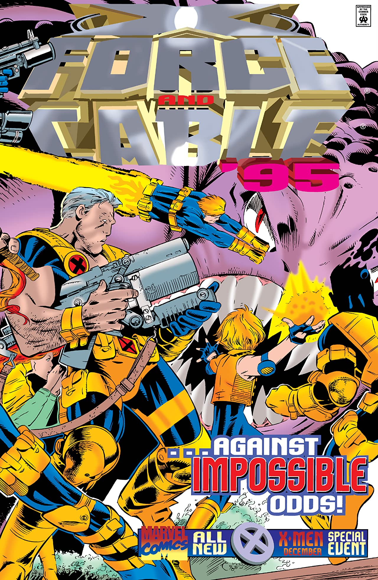 X-Force / Cable Annual (1995) #1
