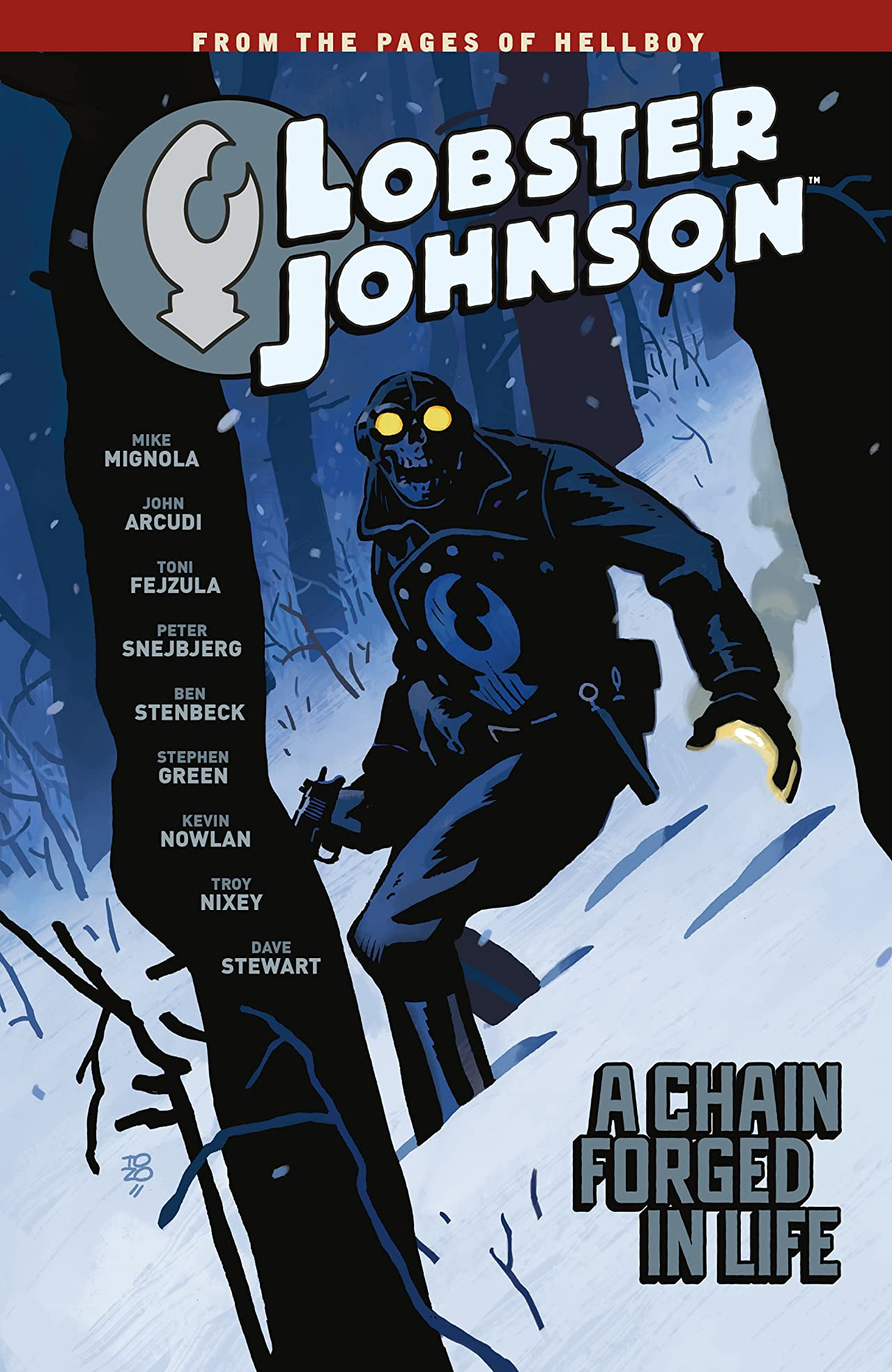 Lobster Johnson Vol. 6: A Chain Forged in Life