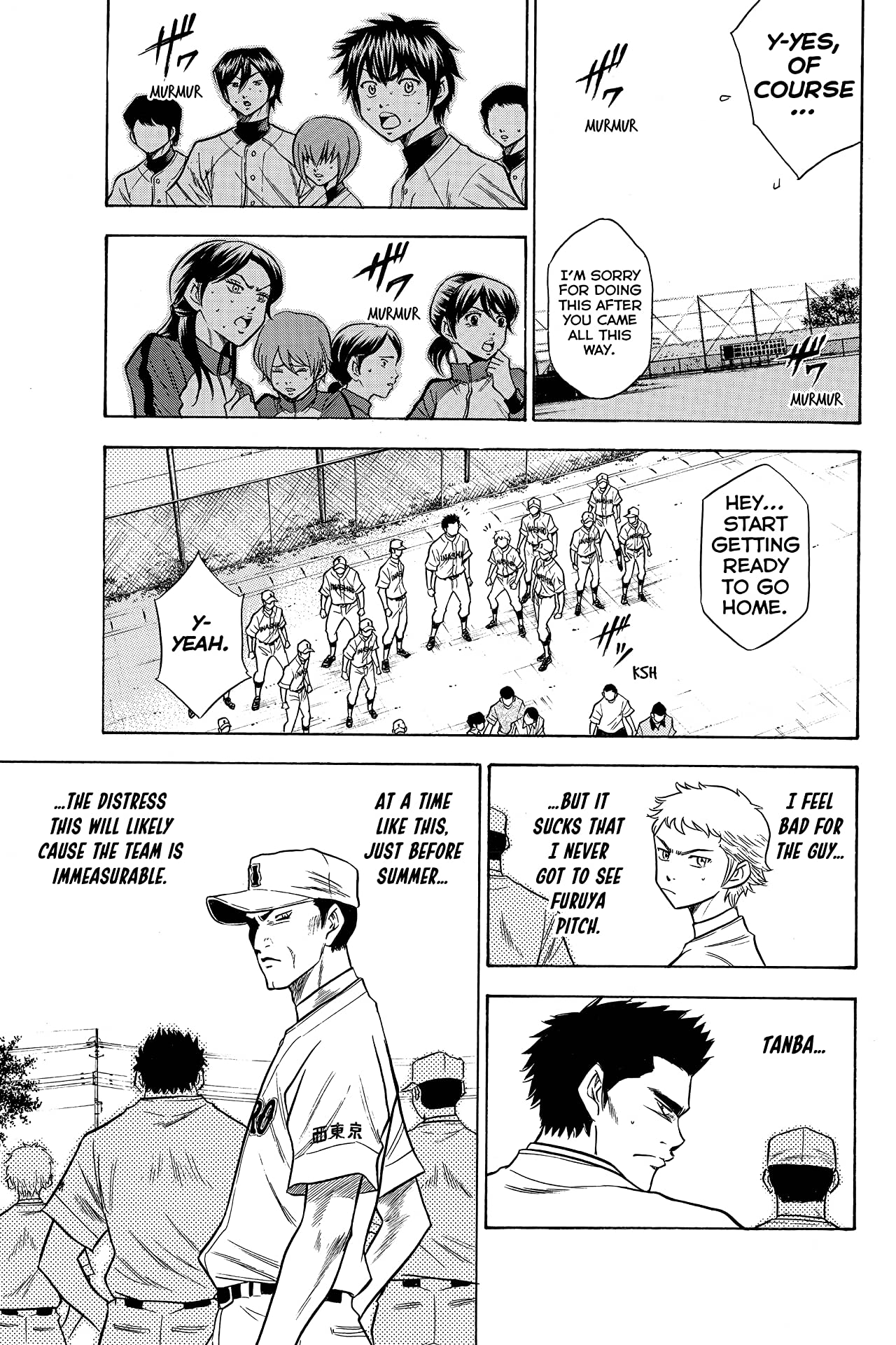 Ace of the Diamond Tome 8