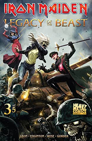 Iron Maiden: Legacy of the Beast #3 (of 5)