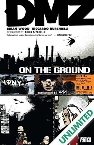 DMZ COMIC_VOLUME_ABBREVIATION 1: On the Ground