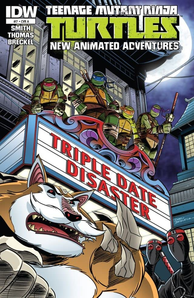 Teenage Mutant Ninja Turtles: New Animated Adventures #7