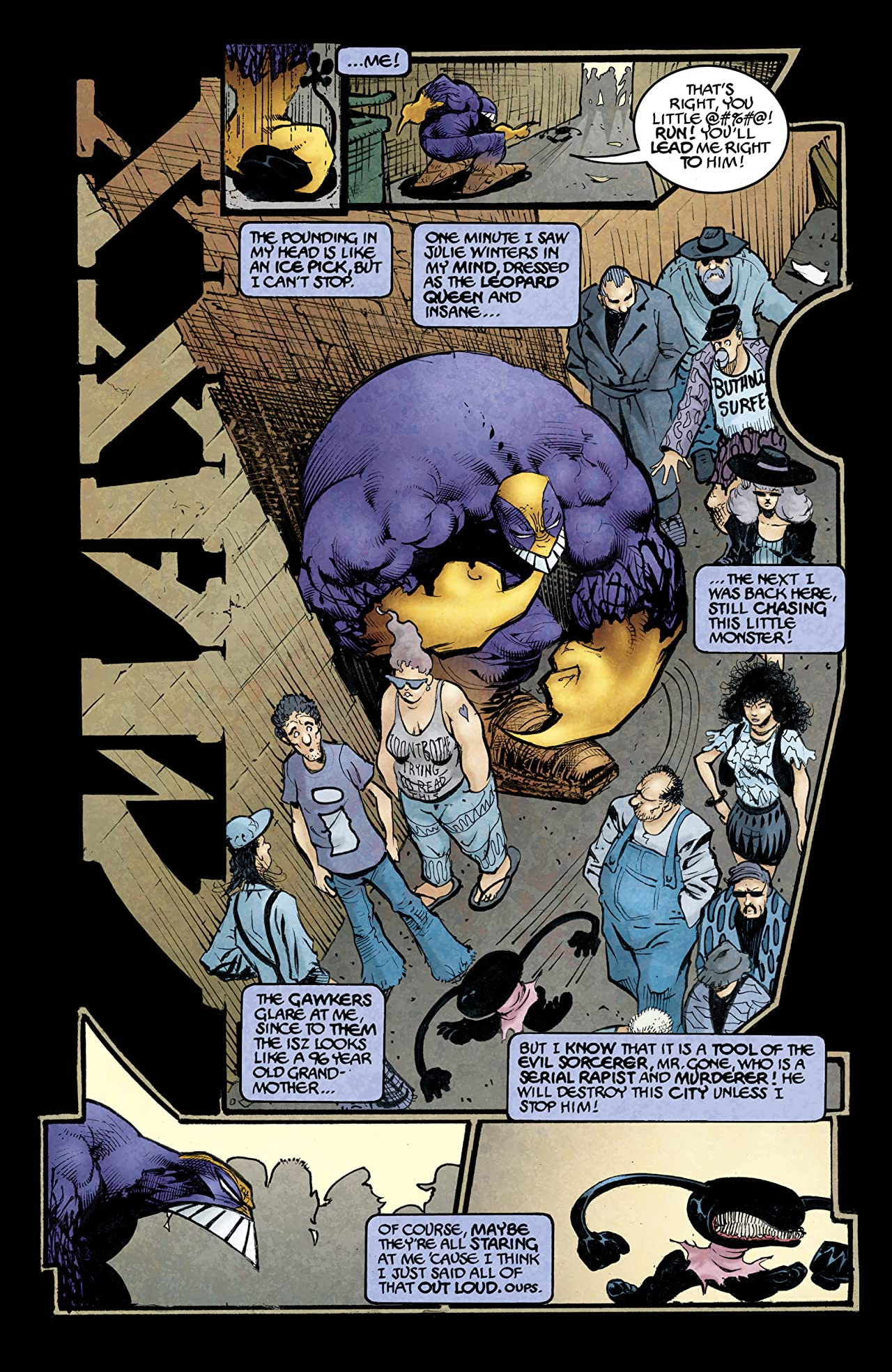 The Maxx: Maxximized #3