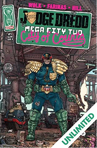 Judge Dredd: Mega-City Two #1 (of 5)