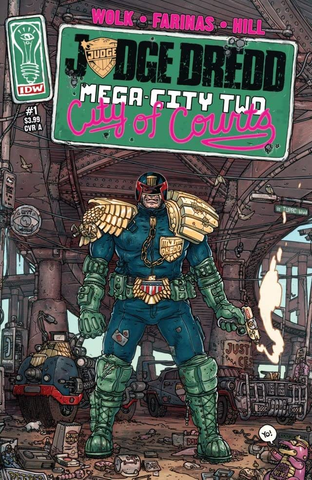 Judge Dredd: Mega-City Two #1