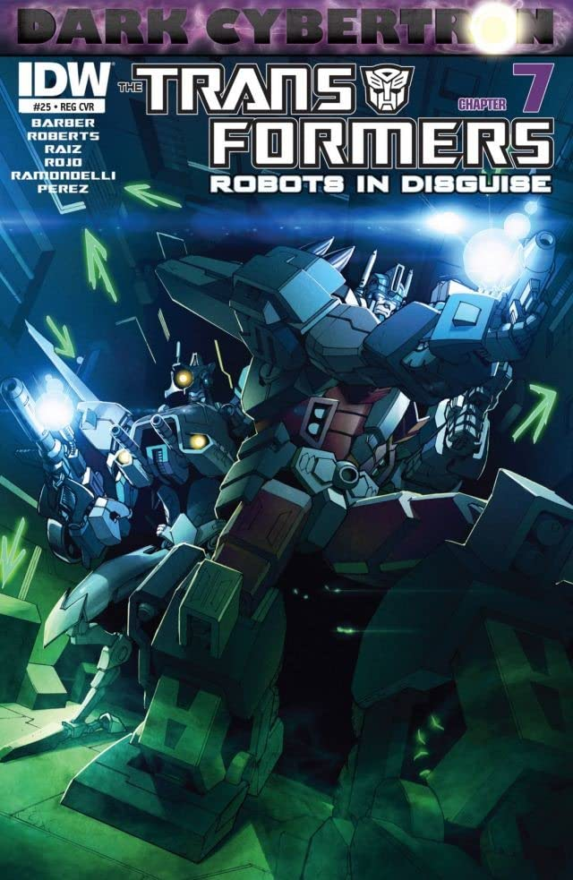 Transformers: Robots In Disguise (2011-2016) #25: Dark Cybertron Part 7