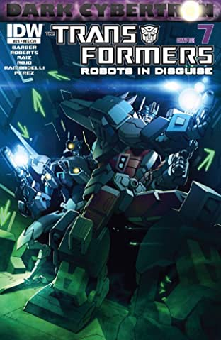Transformers: Robots In Disguise (2011-) #25: Dark Cybertron Part 7