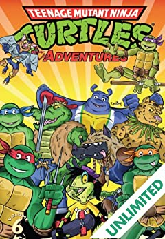 Teenage Mutant Ninja Turtles Adventures Vol. 6