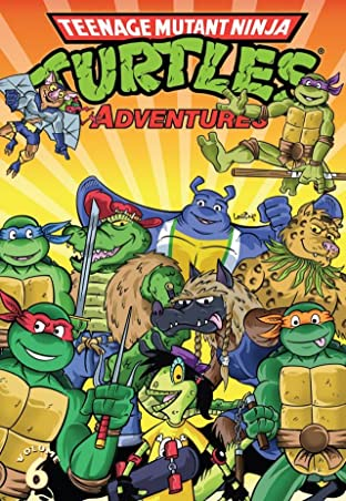 Teenage Mutant Ninja Turtles Adventures Tome 6