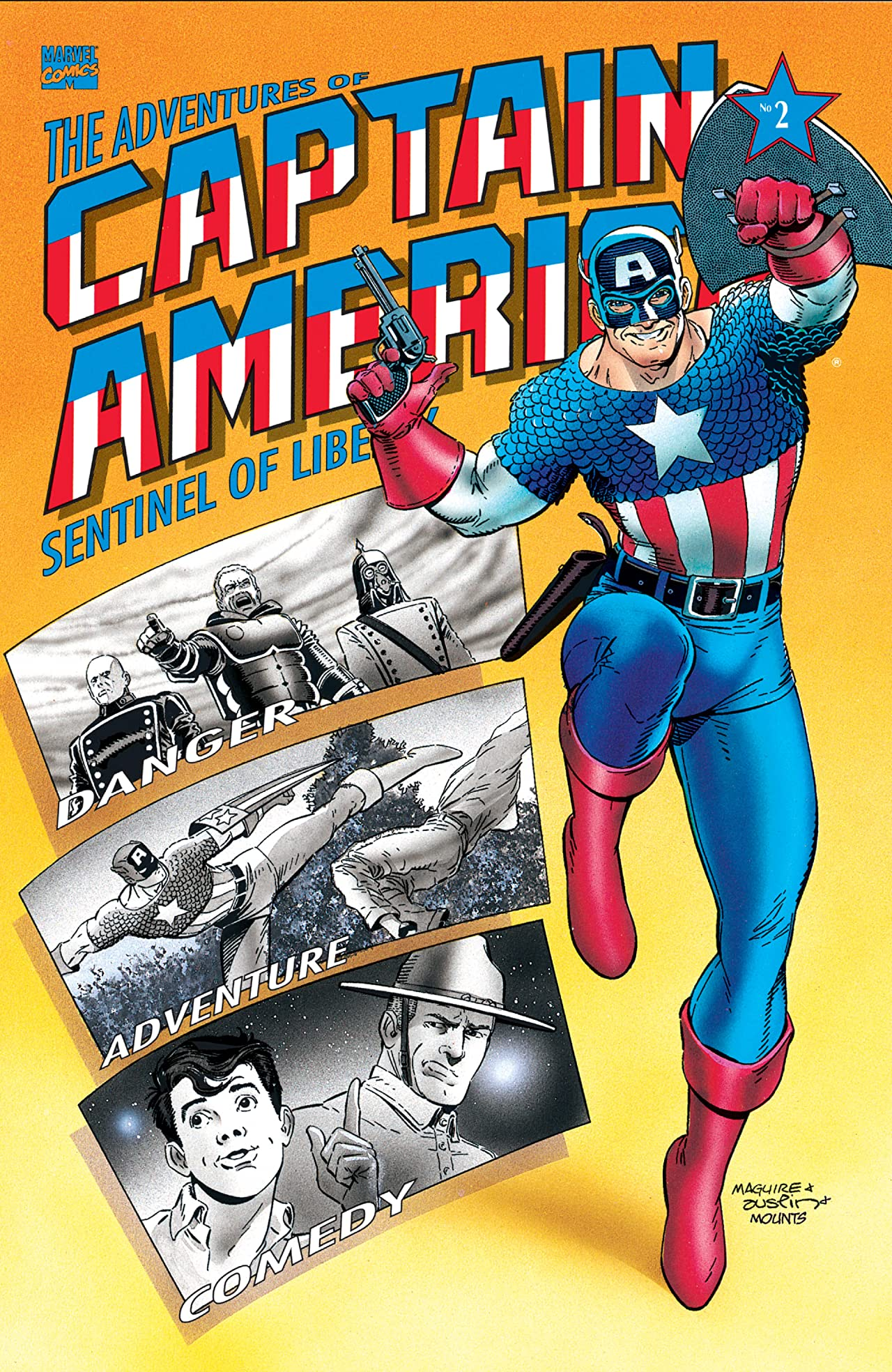 Adventures of Captain America (1991-1992) #2 (of 4)