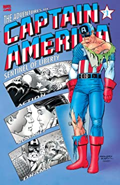 Adventures of Captain America (1991-1992) #3 (of 4)