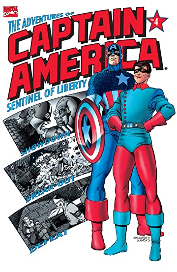 Adventures of Captain America (1991-1992) #4 (of 4)