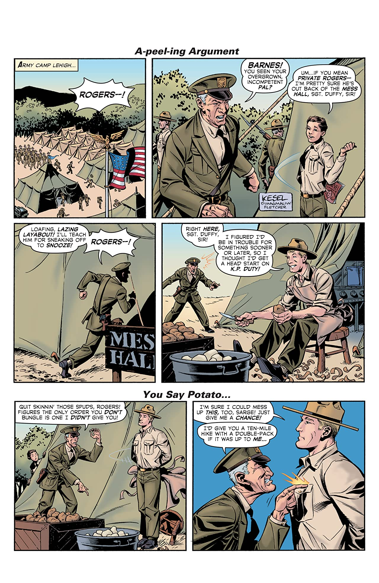 Captain America The 1940s Newspaper Strip (2010) #1 (of 3)