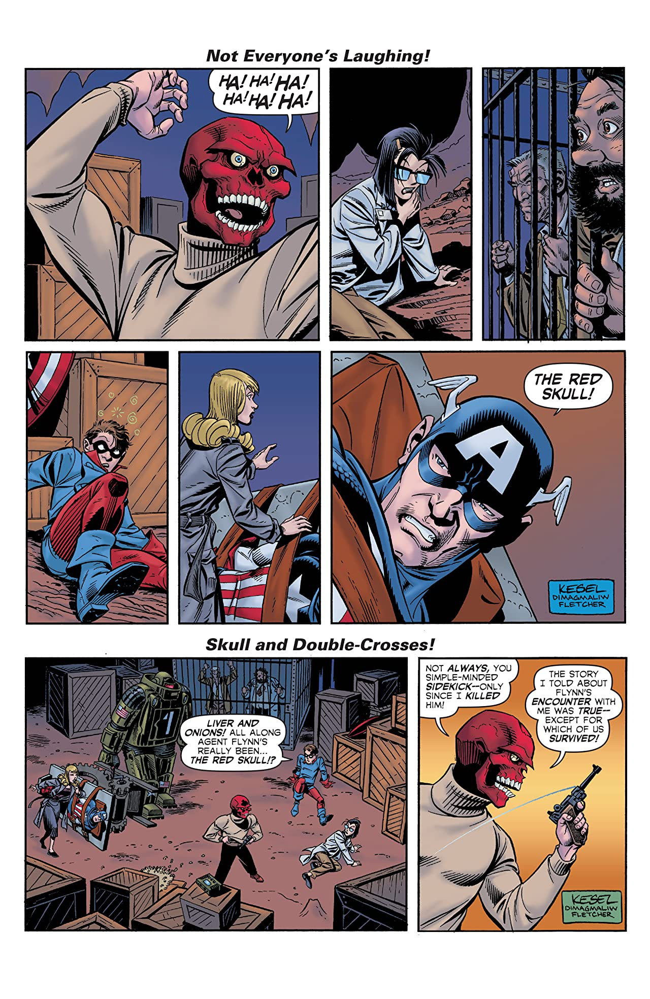 Captain America The 1940s Newspaper Strip (2010) #3 (of 3)