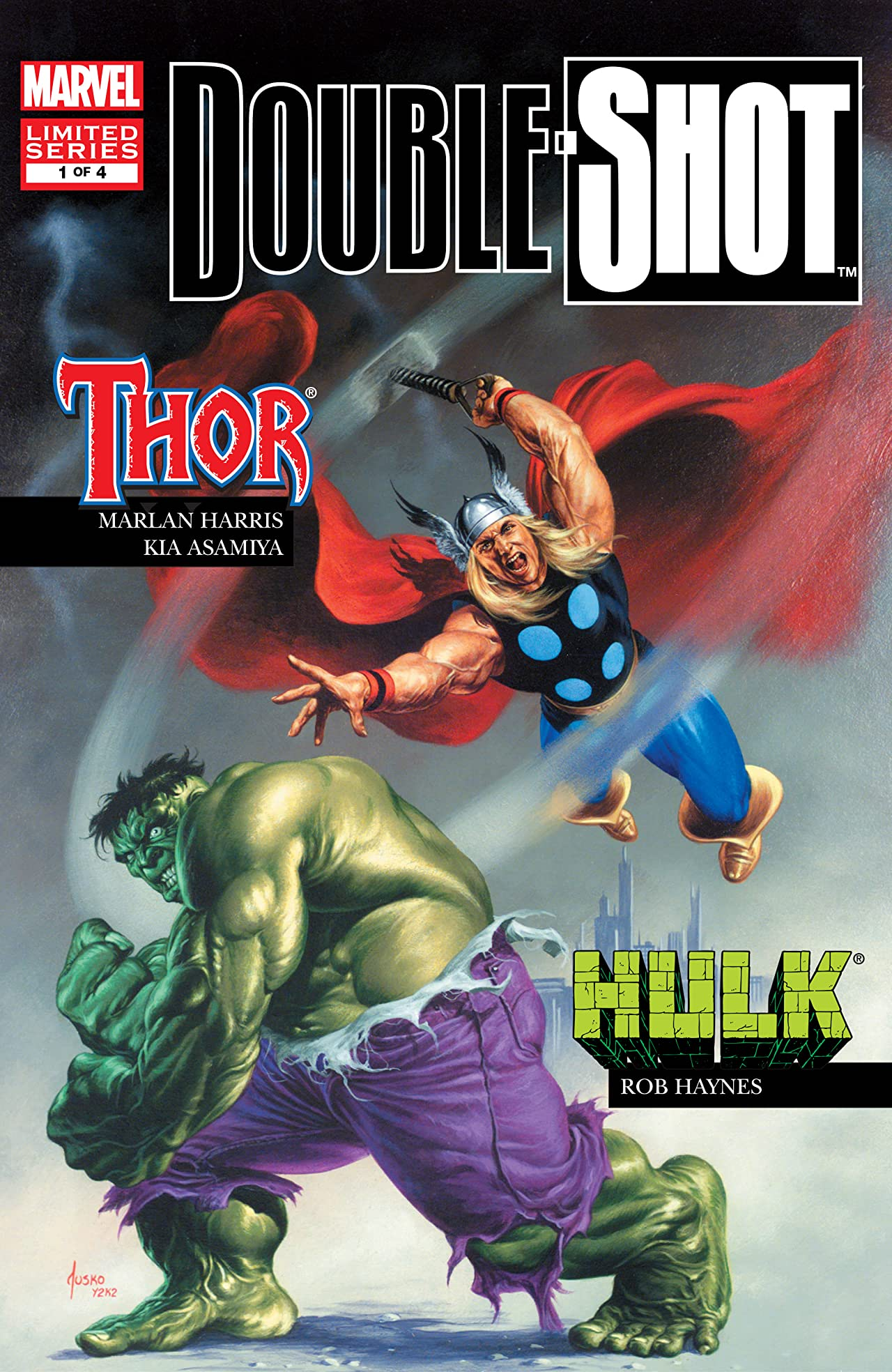 Marvel Double Shot (2003) #1 (of 4)